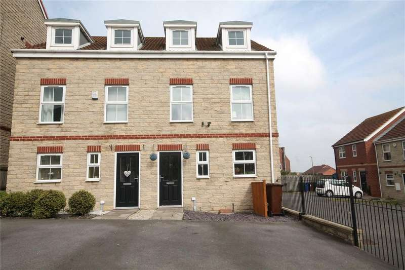 3 Bedrooms Semi Detached House for sale in Verona Rise, Darfield, Barnsley, South Yorkshire, S73