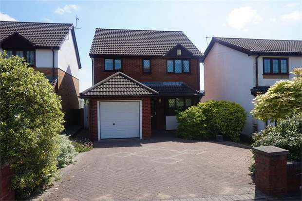 3 Bedrooms Detached House for sale in Magnolia Drive, BLACKWOOD, Caerphilly
