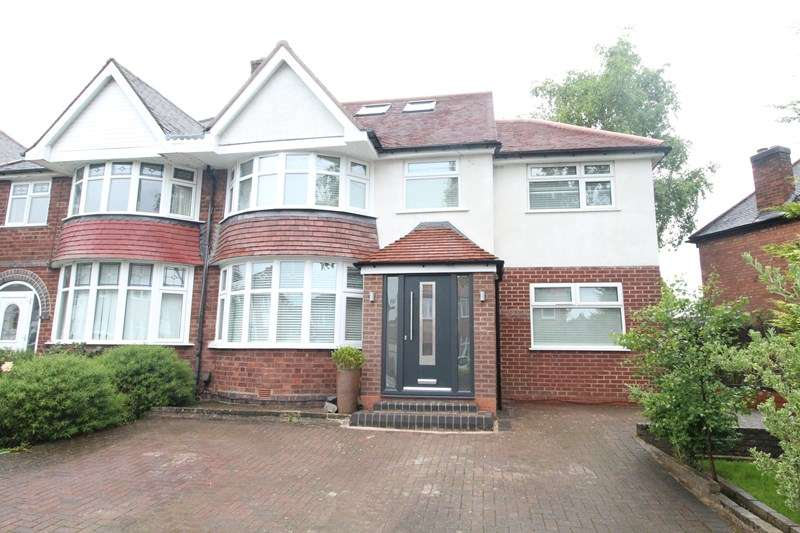 5 Bedrooms Semi Detached House for sale in Stonor Road, Hall Green, Birmingham