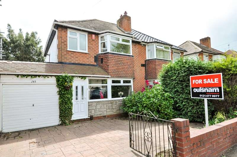 3 Bedrooms Semi Detached House for sale in Jiggins Lane, Bartley Green, Birmingham