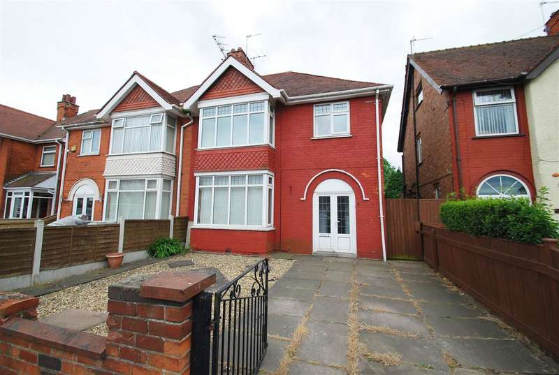 4 Bedrooms Semi Detached House for sale in Burgh Road, Skegness