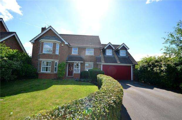 4 Bedrooms Detached House for sale in Skylark Close, Basingstoke, Hampshire