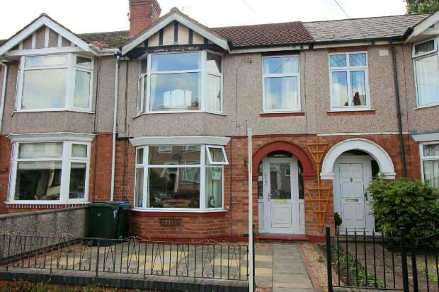 3 Bedrooms Terraced House for sale in Marriott Road , Coundon , Coventry