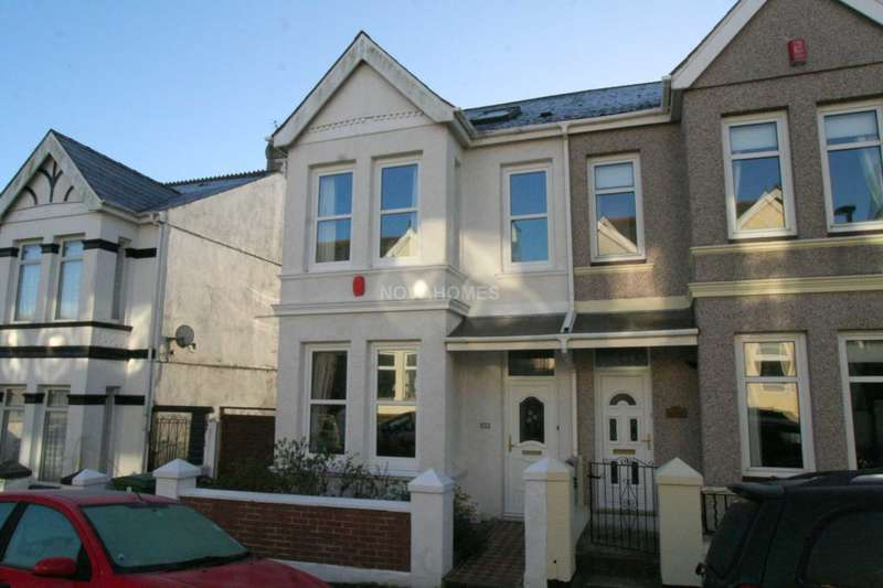 4 Bedrooms Semi Detached House for sale in Fairfield Avenue, Peverell, PL2 3QF