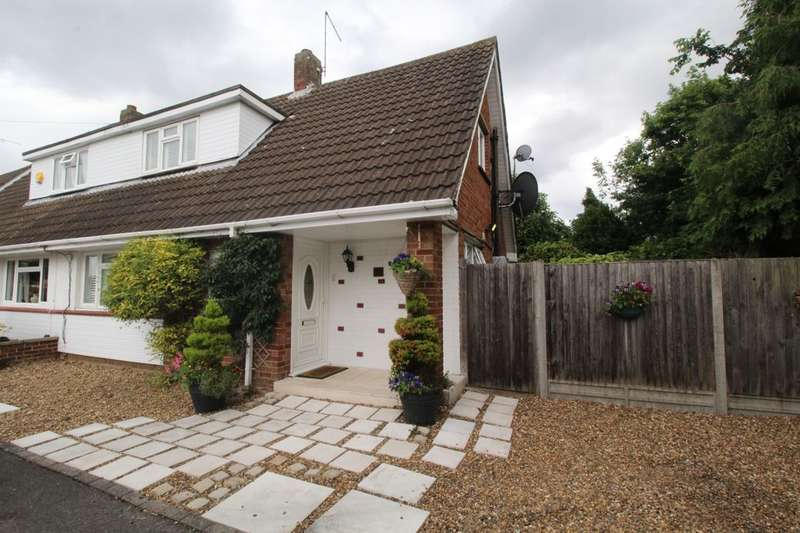 3 Bedrooms Semi Detached House for sale in Rowland Way, Ashford, TW15