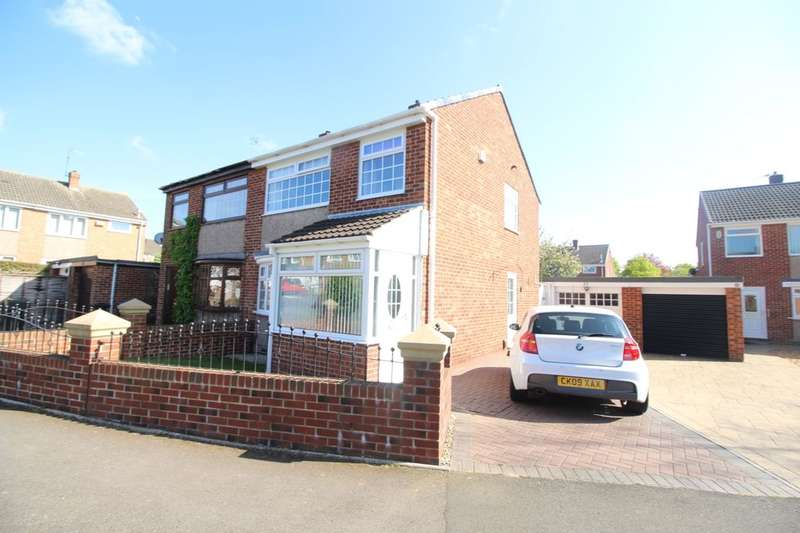 3 Bedrooms Semi Detached House for sale in Aviemore Road, Hemlington, Middlesbrough, TS8
