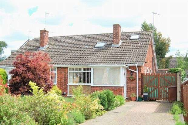 2 Bedrooms Semi Detached Bungalow for sale in Dulverton Road, Abington Vale, Northampton NN3 3AZ