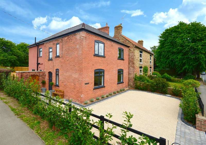 4 Bedrooms Detached House for sale in Main Street, Scothern, Lincoln