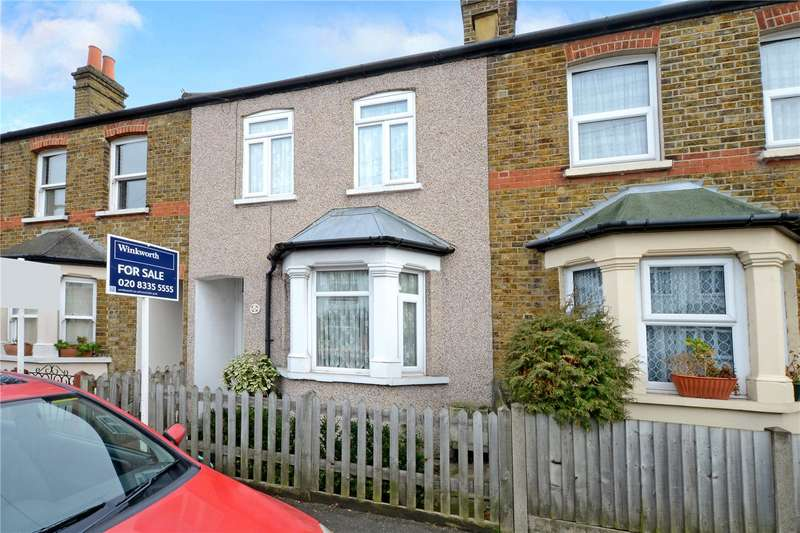 2 Bedrooms Terraced House for sale in Longfellow Road, Worcester Park, Surrey, KT4