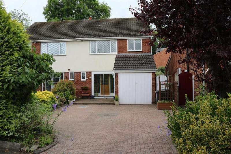 3 Bedrooms Semi Detached House for sale in Broomfield Avenue, Fazeley, Tamworth