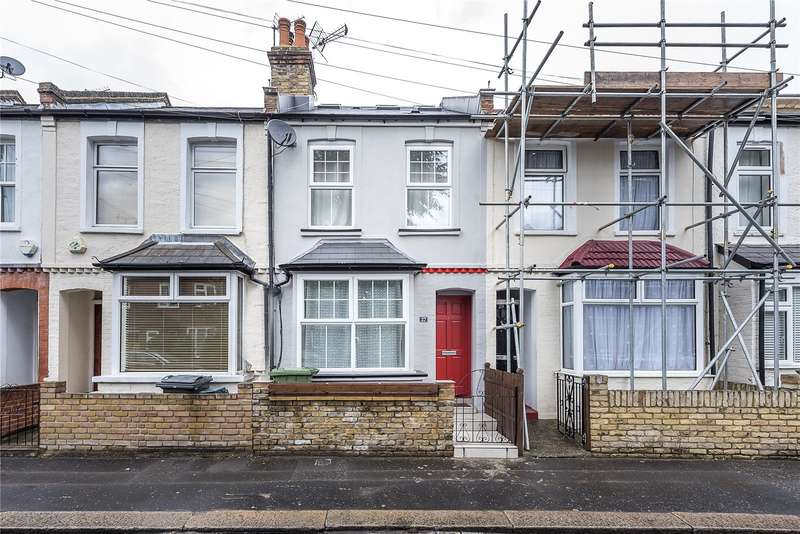 3 Bedrooms Terraced House for sale in Stanley Gardens Road, Teddington, TW11
