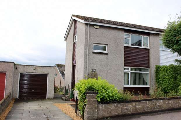 2 Bedrooms Semi Detached House for sale in Woodlands Drive, Crossford, Dunfermline, KY12