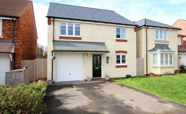 4 Bedrooms Detached House for sale in Barberry Drive, Bridgwater