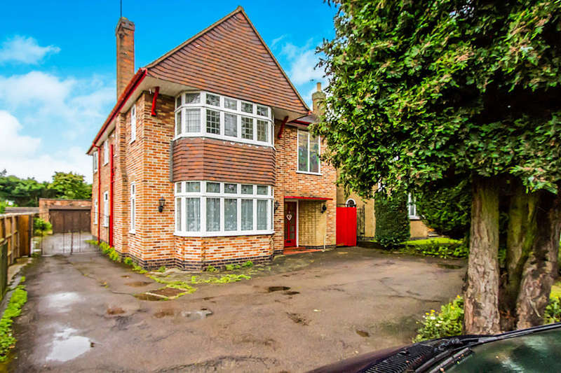 5 Bedrooms Detached House for sale in Leicester Road, Glen Parva, Leicester, LE2