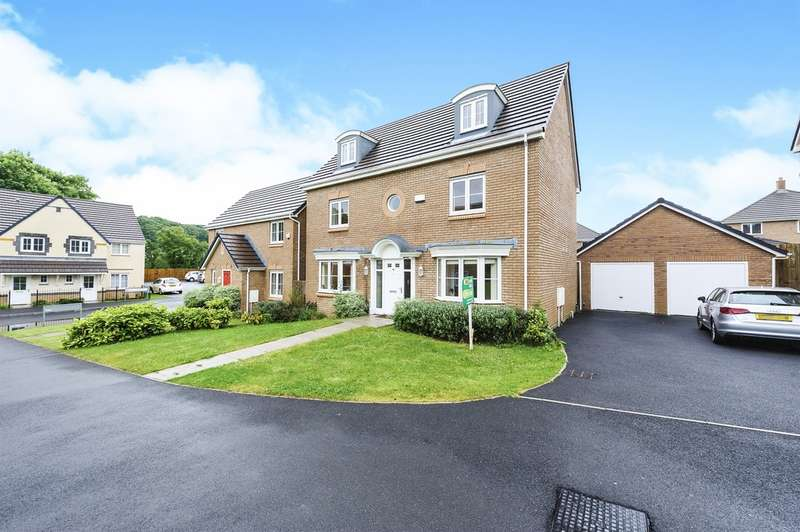 5 Bedrooms Detached House for sale in Cae Morfa, Skewen, Neath