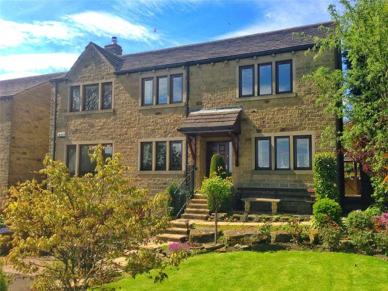 4 Bedrooms Detached House for sale in Orchard Place, Wooldale, Holmfirth, West Yorkshire, HD9