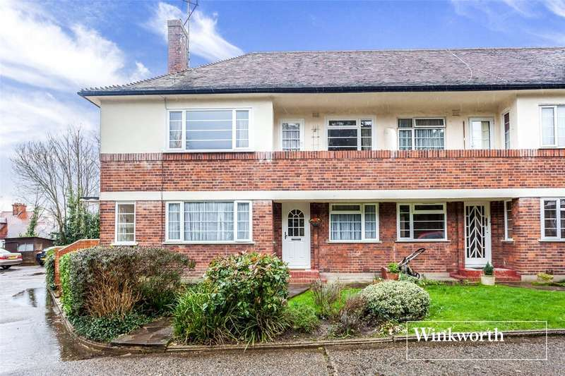 2 Bedrooms Maisonette Flat for sale in Gainsborough Court, Nether Street, North Finchley, London, N12