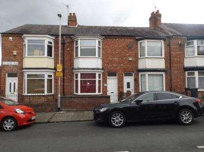 2 Bedrooms Terraced House for sale in Belvedere Road, Darlington