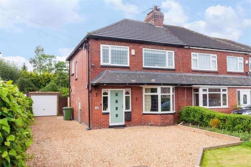 3 Bedrooms Semi Detached House for sale in Mavis Lane, Cookridge, LS16
