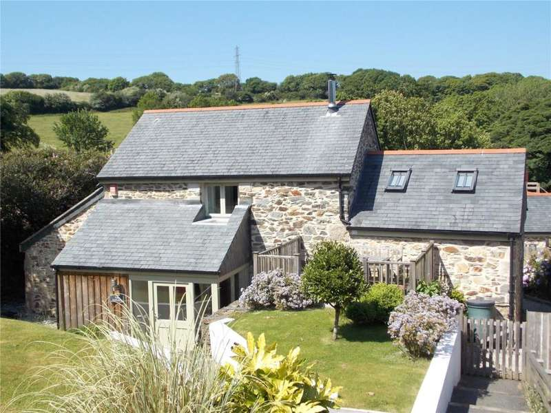 3 Bedrooms Detached House for sale in Trehaddle Barns, Trehaddle, Truro