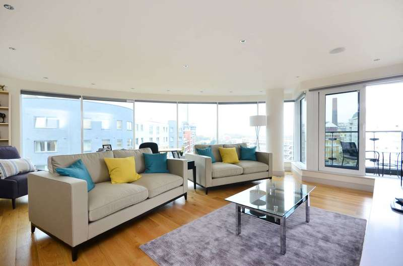 2 Bedrooms Flat for sale in Octavia House, Townmead Road, Imperial Wharf, SW6