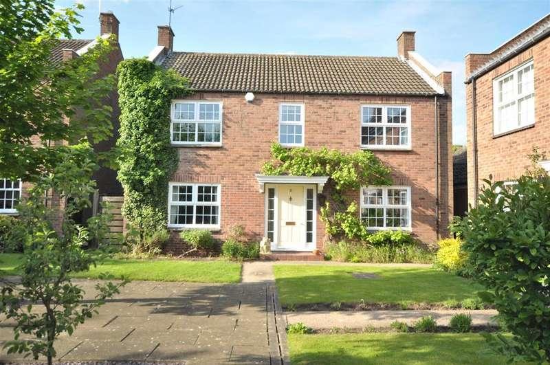 4 Bedrooms Detached House for sale in Burneham Close, East Bridgford, Nottingham