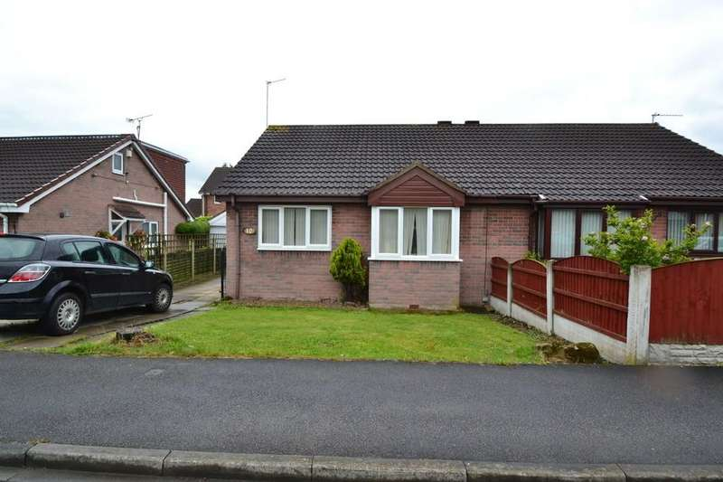 2 Bedrooms Semi Detached Bungalow for sale in Brooksfield, South Kirkby, Pontefract