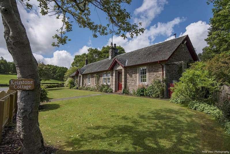5 Bedrooms Detached House for sale in Keir, Dunblane, Scotland, FK15 9NU