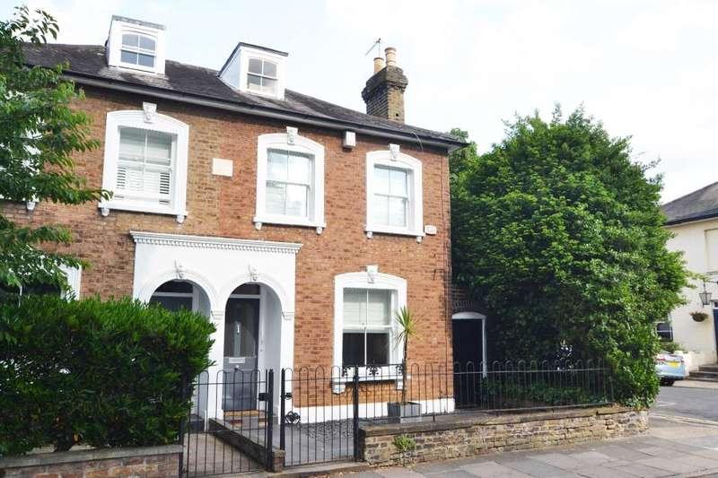 4 Bedrooms Semi Detached House for sale in Park Road, Teddington, TW11