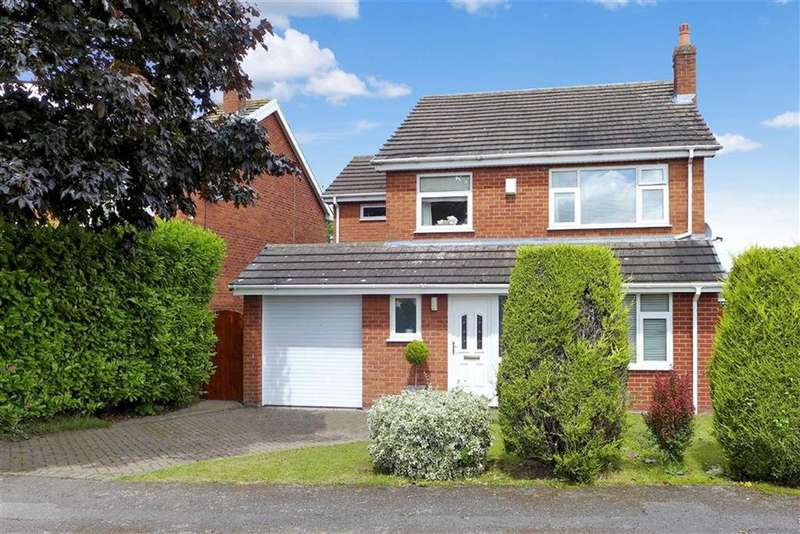 5 Bedrooms Detached House for sale in Waverton Close, Hough, Crewe