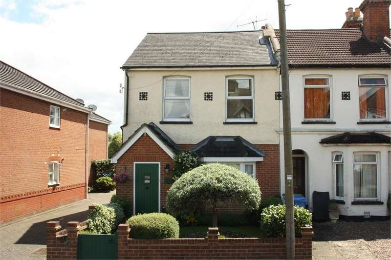3 Bedrooms End Of Terrace House for sale in Brighton Road, Aldershot, Hampshire