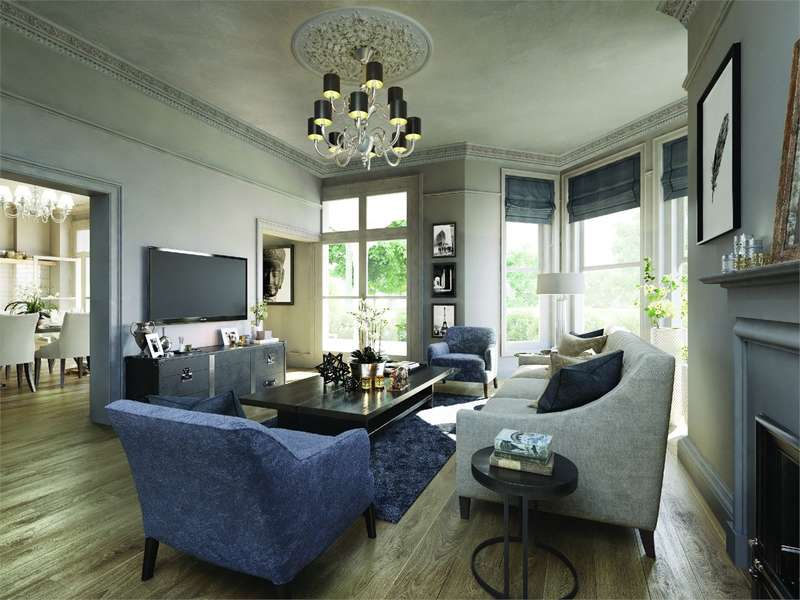 2 Bedrooms Flat for sale in The Heritage Buildings, Woodside Square, Muswell Hill, London