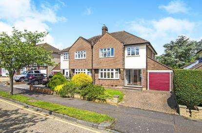 3 Bedrooms Semi Detached House for sale in Theydon Bois, Epping, Essex