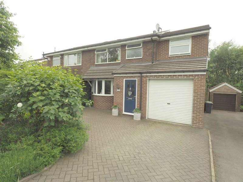 4 Bedrooms Semi Detached House for sale in Rowton Grange Road, Chapel en le Frith, High Peak, Derbyshire, SK23 0LE