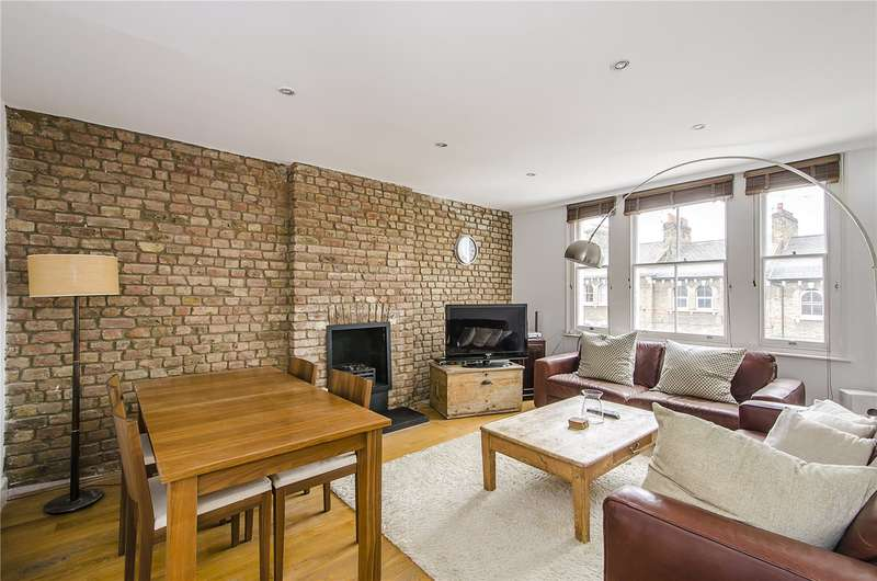 2 Bedrooms Flat for sale in Victoria Rise, London, SW4