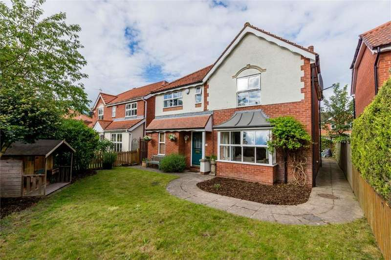 4 Bedrooms Detached House for sale in Shotel Close, Shipton Road, York