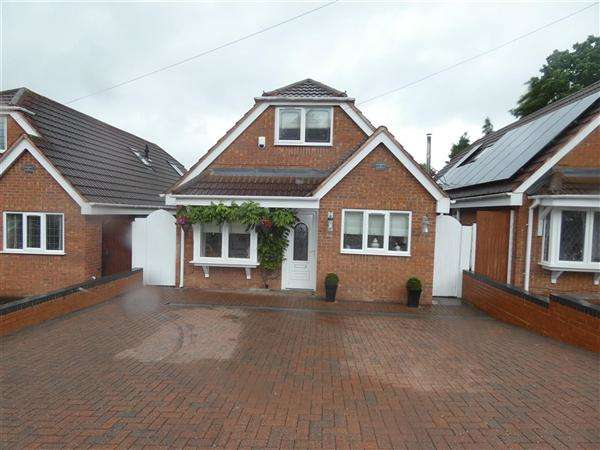3 Bedrooms Bungalow for sale in Palmcourt Avenue, Hall Green, Birmingham