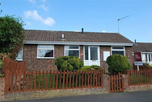 2 Bedrooms Semi Detached Bungalow for sale in 10 Ebnal Close, Leominster, Herefordshire