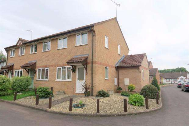 2 Bedrooms End Of Terrace House for sale in Bilberry Grove, Taunton TA1