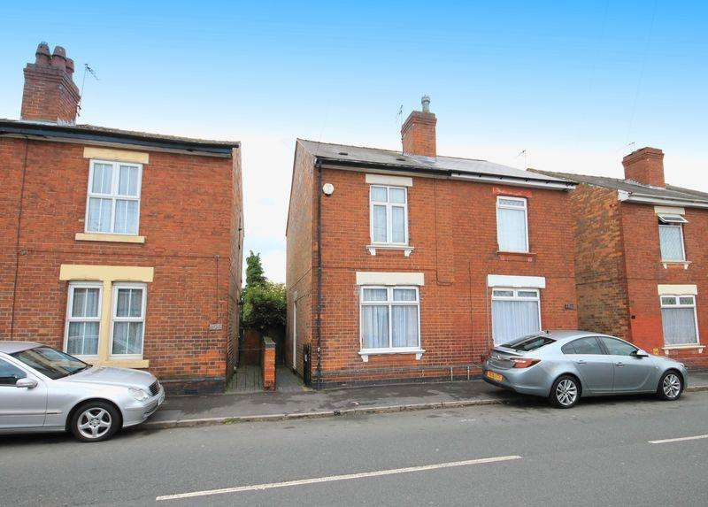 2 Bedrooms Semi Detached House for sale in BOWER STREET, ALVASTON