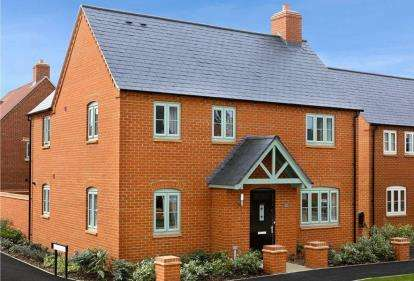 4 Bedrooms Semi Detached House for sale in The Brackens, Radstone Fields, Halse Road, Brackley