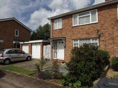 3 Bedrooms Semi Detached House for sale in St. Anselm Place, St Neots, Cambridge