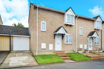 2 Bedrooms End Of Terrace House for sale in Locksgreen Crescent, Haydon Wick, Swindon, Wiltshire