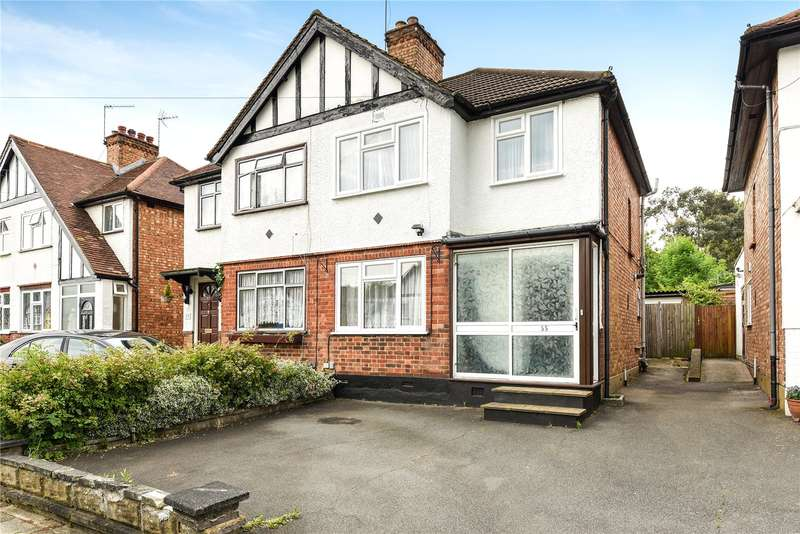 3 Bedrooms Semi Detached House for sale in Belsize Road, Harrow, Middlesex, HA3