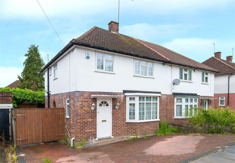 3 Bedrooms Semi Detached House for sale in Marsh Lane, Stanmore, HA7