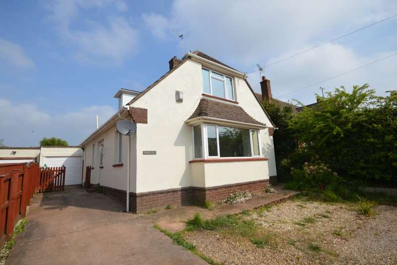 3 Bedrooms Detached Bungalow for sale in Salterton Road, Exmouth, EX8