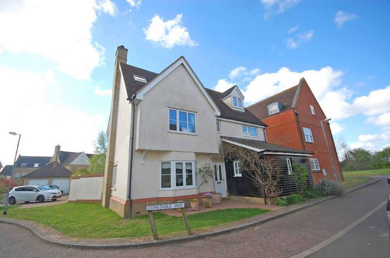 5 Bedrooms Detached House for sale in Constable Way, Braintree, CM77