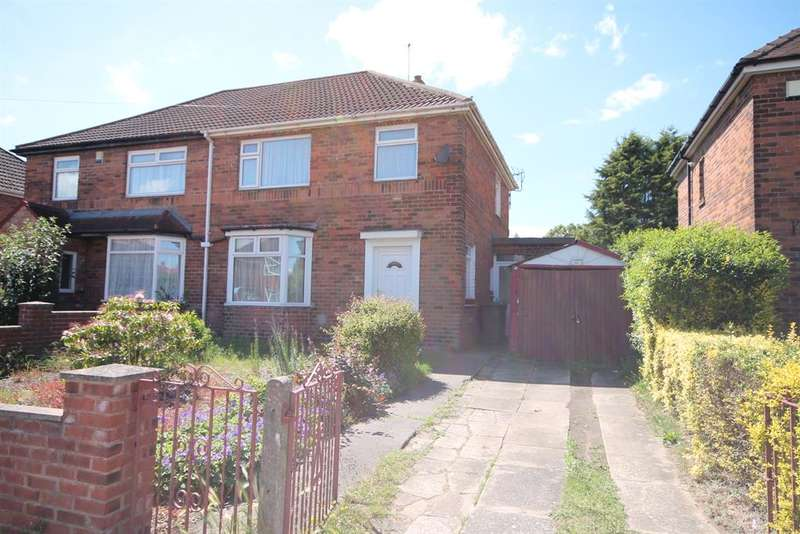 3 Bedrooms Semi Detached House for sale in Jute Road, York, YO26 5EN