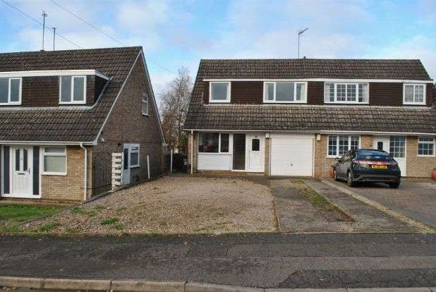 3 Bedrooms Semi Detached House for sale in Grasscroft, Kingsthorpe, Northampton NN2 8QH