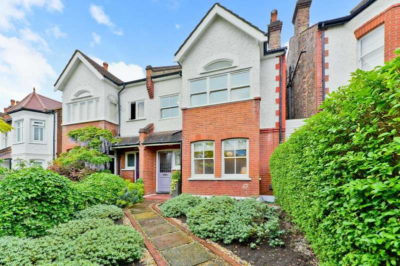 4 Bedrooms Semi Detached House for sale in Overhill Road, London SE22